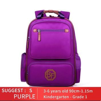 Boys Backpack Bag BEAR DEPT FAMILY Brand Children Orthopedic s Kids School bags Girls Book Bag for Primary Kindergarten Student Bag AT_61_4