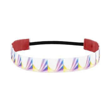 Abstract Swirl 1 Athletic Headband