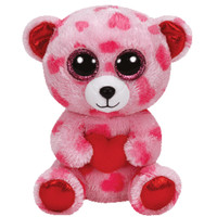 TY Beanie Boos - SWEETIKINS the Bear (Glitter Eyes) (Regular Size - 6 inch)