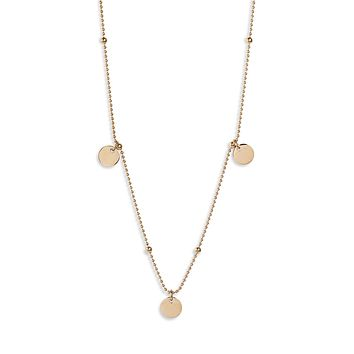 Disk Charm Necklace | More Colors Available