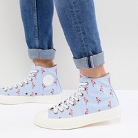 Converse Chuck Taylor All Star '70 Hi Sneakers In Flamingo 160479C at asos.com