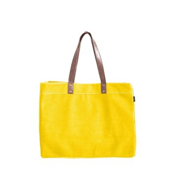 Carryall Tote - Mustard