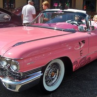 Classic Tales: 1960 pink Cadillac a tribute to Elvis