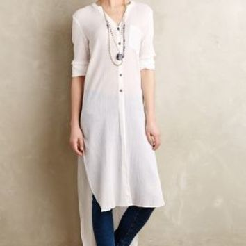 Buttondown Gauze Tunic by Holding Horses Ivory