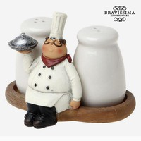 Salt and pepper set  Bravissima Kitchen 8861 (2 pcs)