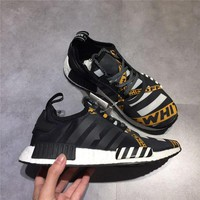 Newest Off-White X NMD XR1 Limited Release Running Shoes For Men Women Sneakers Shoes Real Boost BA7528 Original Quality