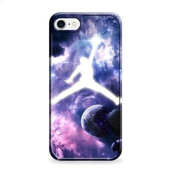 Michael Jordan In Galaxy Nebula 2 iPhone 6 | iPhone 6S case