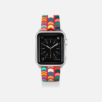 arrow pop red apple band watch Apple Watch Band (38mm)  by Sharon Turner | Casetify
