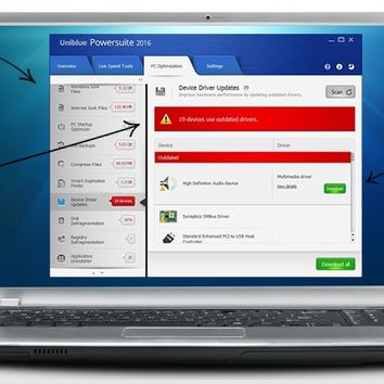 Uniblue PowerSuite 2016 Crack & Serial Key Free