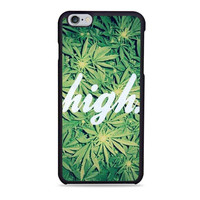 High Weed Unique Iphone 6s Case