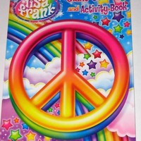 Lisa Frank Friends Forever Giant Coloring and Activity Book