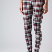 Spring Knitted Check Treggings