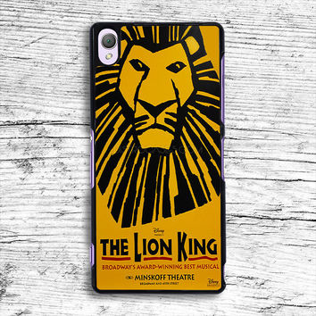 The Lion King the Musical Broadway Sony Xperia Case, iPhone 4s 5s 5c 6s Plus Cases, iPod Touch 4 5 6 case, samsung case, HTC case, LG case, Nexus case, iPad cases