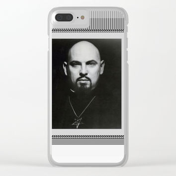 LAVEYPORTRAIT Clear iPhone Case by Kathead Tarot/David Rivera