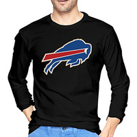 Men's Buffalo Bills Championship Drive Gold Long Sleeve T-shirts Black