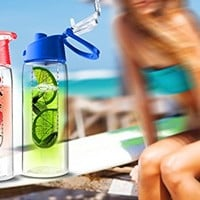 Asobu Flavor It Infuser Water Bottle Pure Fruit Flavour 2 Go