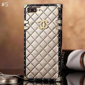 Tide brand all-inclusive anti-fall rhombic iPhoneX mobile phone case cover #5