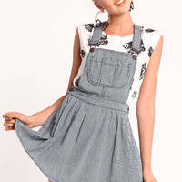 SCHOOLYARD CRUSH OVERALL DRESS