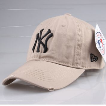 Sports NY Cotton Baseball Cap