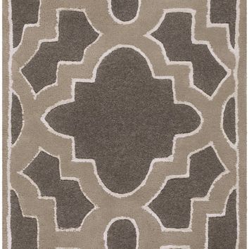 Surya Modern Classics CAN2037 Black/Gray Geometric Area Rug