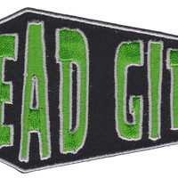 KREEPSVILLE 666 DEAD GIRL COFFIN PATCH