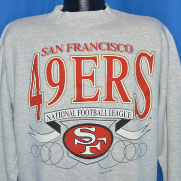 90s San Francisco 49ers Sweatshirt Large