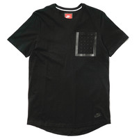 Bonded Pocket Top Black