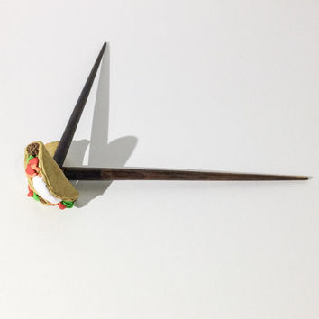 Taco Hair Sticks