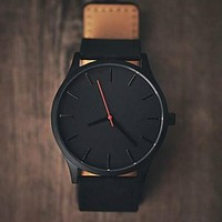 Military Leather Sport watch.