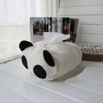 Tissue Box for Car ,Panda