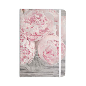 """Suzanne Harford """"Pink Peony Flowers"""" Floral Photography Everything Notebook"""
