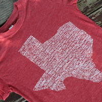 Texas Hometown Tee Shirt