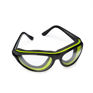Tear Free Onion Goggles | chopped onion, onion cutting goggles, safety glasses