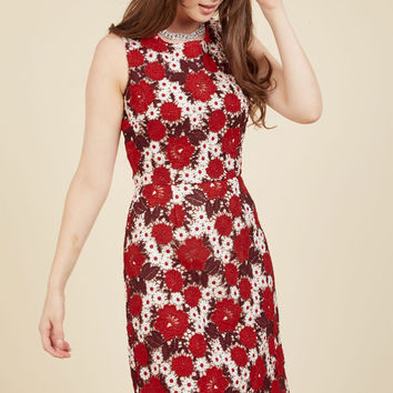 Of Elegant Importance Sheath Dress | Mod Retro Vintage Dresses | ModCloth.com