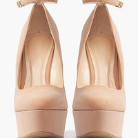 Pandora Wedges - Nude