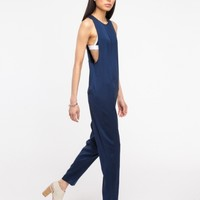 T by Alexander Wang / Silk Twill Romper