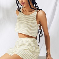 Urban Renewal Remnants Striped Short 2-Piece Set | Urban Outfitters