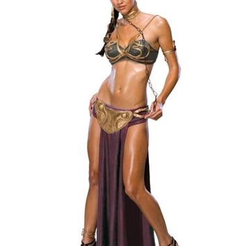 Star Wars Princess Leia Slave Costume for Adults- Party City
