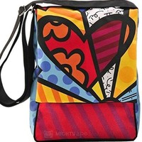 Romero Britto Messenger Bag