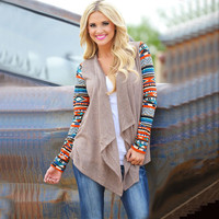 winter kn cardigans jacket Asymmetrical cardigan Casual knittig chig Outwear Striped s YG282
