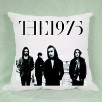 Top Famous Band The 1975 All Member Pillow Case Cushion 16 18 20 2 Side Cover