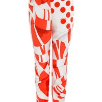 Fendi Silk Blossom Pants