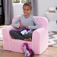 Kids Children Toddlers Upholstered Foam Bedroom Arm Chair Lounge Seating