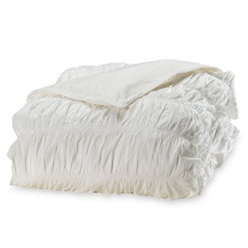 DKNY Willow White Duvet Cover