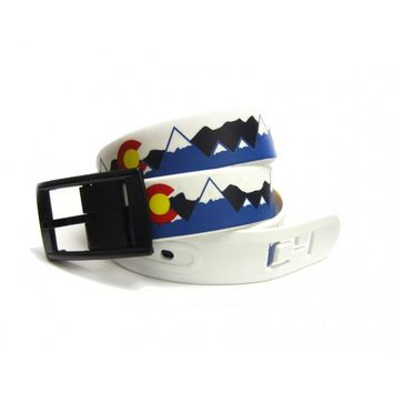 Colorado High C4 Belt | Men's TPE Plastic Belt | Colorado State Belt