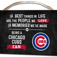 Chicago Cubs Small Plaque - Best Things