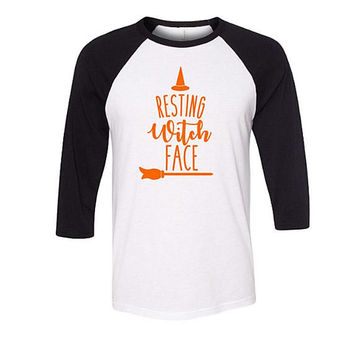 Funny Halloween Shirt, Resting Witch Face, Witch Shirt, Witch Costume