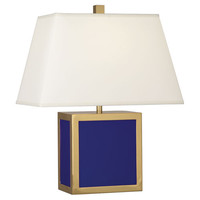 Jonathan Adler Barcelona Accent Lamp in Royal Blue design by Robert Abbey
