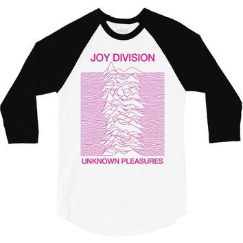 Joy Division Unknown Pleasures 3/4 Sleeve Shirt