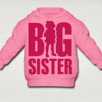 Big Sibling Toddler Hooded Sweatshirt - Free Shipping